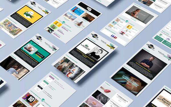 Création de newsletter - web design