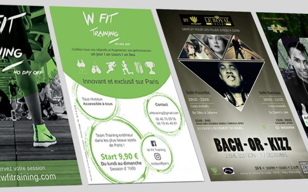 création design flyer - Les mentions légales