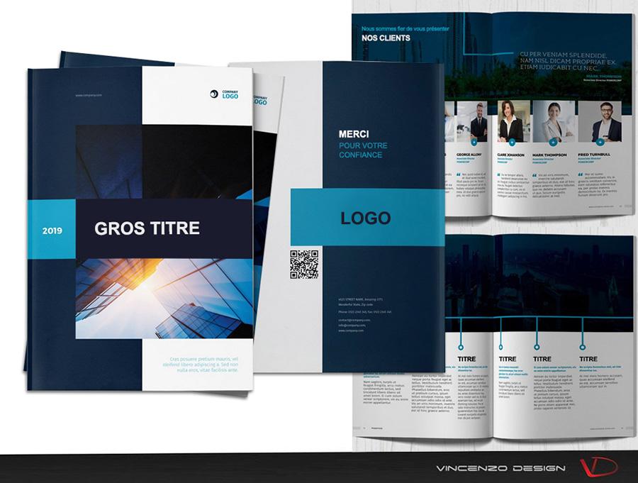 graphiste brochure