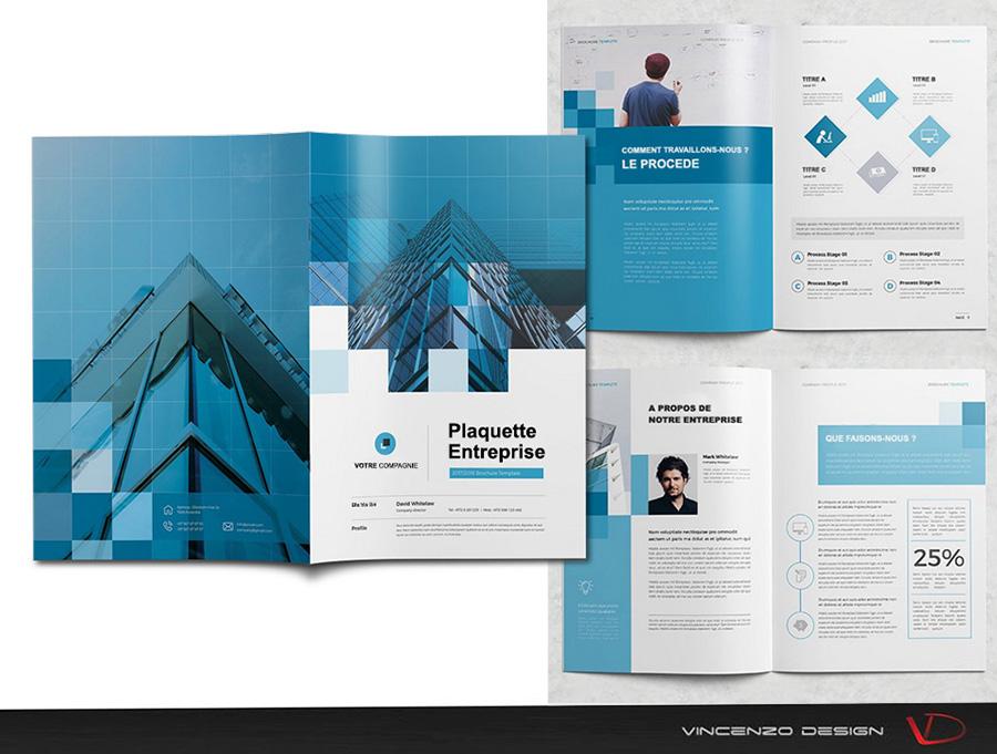 plaquette commerciale brochure