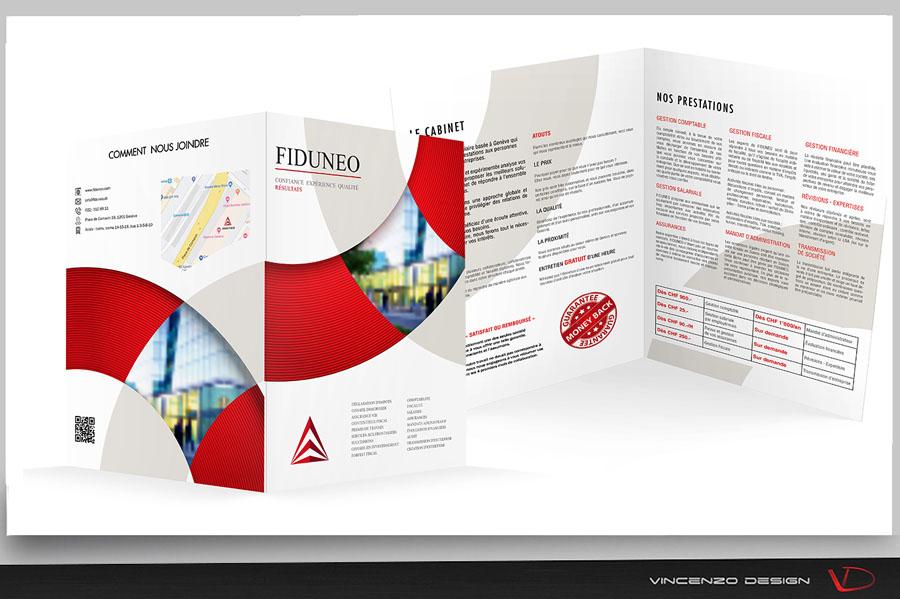 plaquette commerciale Fiduneo - Suisse