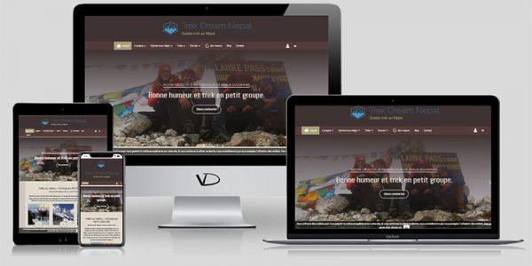 Création de site internet de voyage